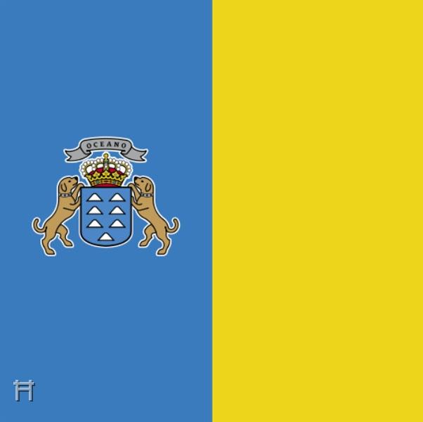 ryoma sakamoto v2 0 la palma vlag canarische eilanden